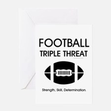 TOP Football Slogan Greeting Card