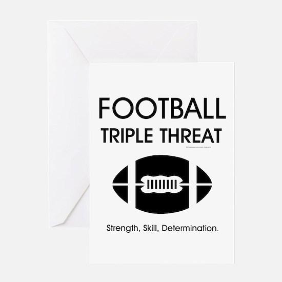 TOP Football Slogan Greeting Card