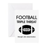 TOP Football Slogan Greeting Cards (Pk of 10)