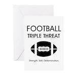 TOP Football Slogan Greeting Cards (Pk of 20)