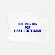 Bill Clinton for First Gentleman-Akz blue 500 5'x7