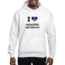 I love Memphis Michigan Hoodie