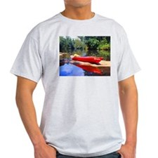 Cute Lake kayak T-Shirt