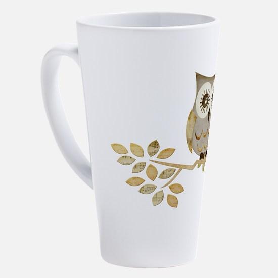 Cute Love birds 17 oz Latte Mug