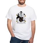 Hawkesworth Family Crest White T-Shirt