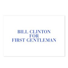 Bill Clinton for First Gentleman-Bau blue 500 Post