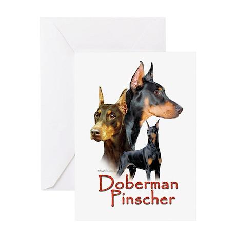 Doberman Pincher-1 Greeting Card