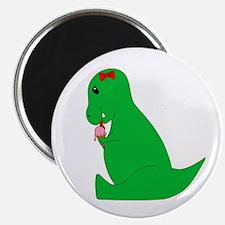 T-Rex Ice Cream Cone Magnets
