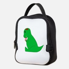 T-Rex Ice Cream Cone Neoprene Lunch Bag