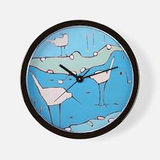 The Waders Wall Clock