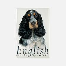 English Cocker Spaniel-1 Rectangle Magnet (100 pac