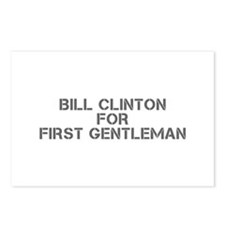 Bill Clinton for First Gentleman-Cle gray 500 Post