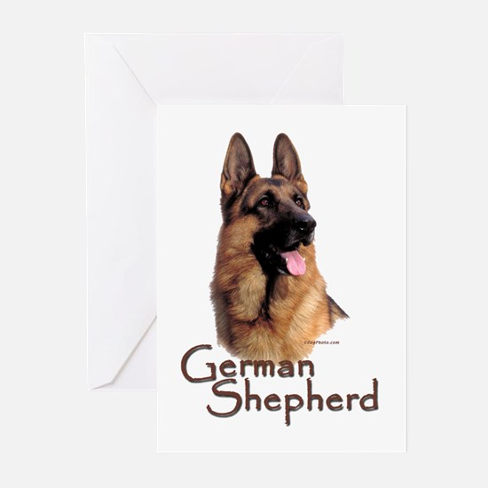 German Shepherd Dog-1 Greeting Cards (Pk of 10)