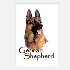 German Shepherd Dog-1 Postcards (Package of 8)