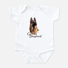 German Shepherd Dog-1 Infant Bodysuit