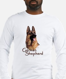 German Shepherd Dog-1 Long Sleeve T-Shirt
