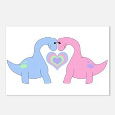 Adoring Apatosaurus Postcards (Package of 8)