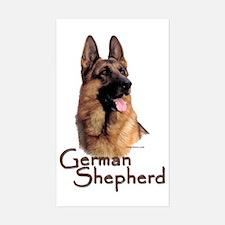 German Shepherd Dog-1 Rectangle Decal