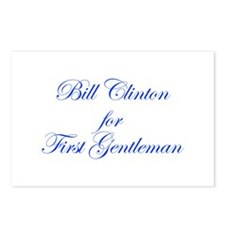 Bill Clinton for First Gentleman-Edw blue 470 Post