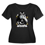 Hathaway Family Crest Women's Plus Size Scoop Neck