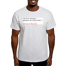 Gluttony Ash Grey T-Shirt