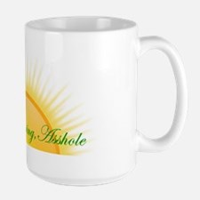 Good Morning, Asshole Large Mug