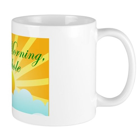 Sexiest good morning asshole coffee mug