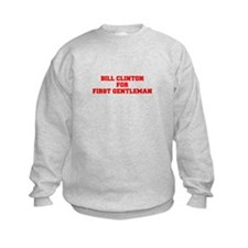 Bill Clinton for First Gentleman-Fre red 600 Sweat