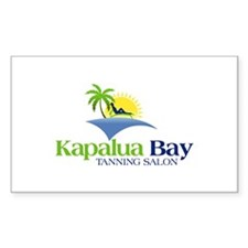 kapalua Bay Rectangle Decal