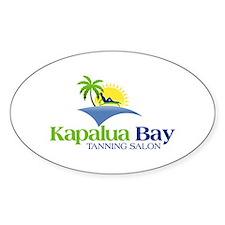 kapalua Bay Oval Decal
