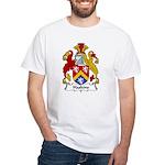 Haskins Family Crest White T-Shirt