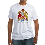 Haskins Family Crest Fitted T-Shirt