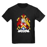 Haskins Family Crest Kids Dark T-Shirt