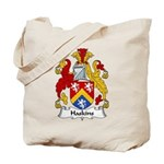 Haskins Family Crest Tote Bag