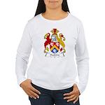 Haskins Family Crest Women's Long Sleeve T-Shirt