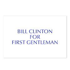 Bill Clinton for First Gentleman-Opt blue 550 Post