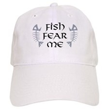 Fish Fear Me Baseball Cap