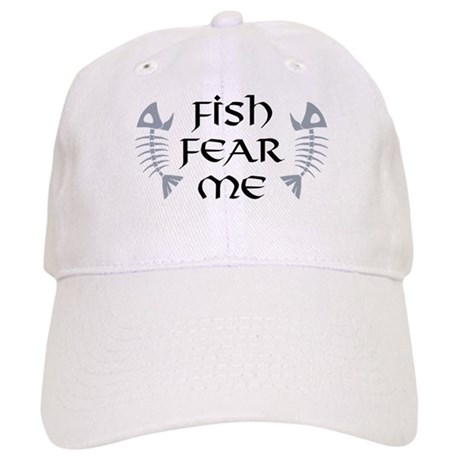 Fish fear me cap by giftcy for White cap fish