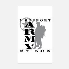 I Support Son 2 - ARMY Rectangle Decal