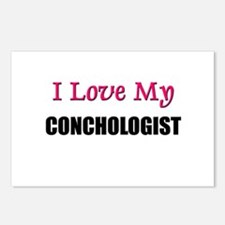 I Love My CONCHOLOGIST Postcards (Package of 8)