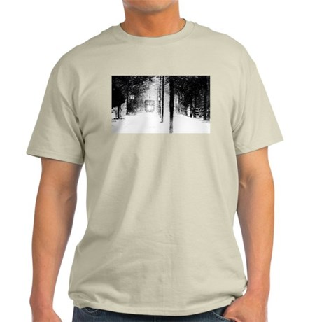 December 1989 Snow in New Orleans Ash Grey T-Shirt