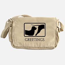 Tosa Inu Messenger Bag