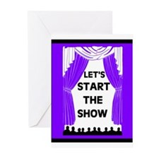 START THE SHOW Greeting Cards (Pk of 10)