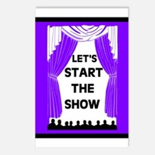 START THE SHOW Postcards (Package of 8)