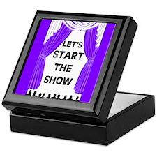 START THE SHOW Keepsake Box
