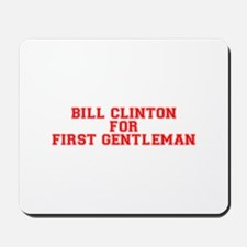 Bill Clinton for First Gentleman-Var red 500 Mouse