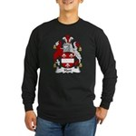 Hart Family Crest Long Sleeve Dark T-Shirt