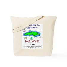 Unique Antiles beach Tote Bag