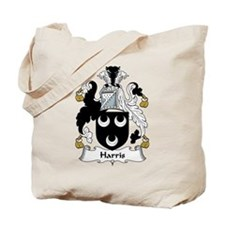 Harris Family Crest Tote Bag