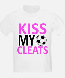 Kiss My Cleats T-Shirt